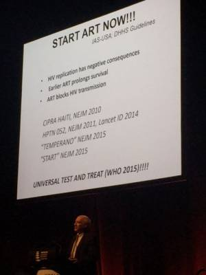 Treatment to Prevent HIV: Opening Plenary HIV&AIDS 2015